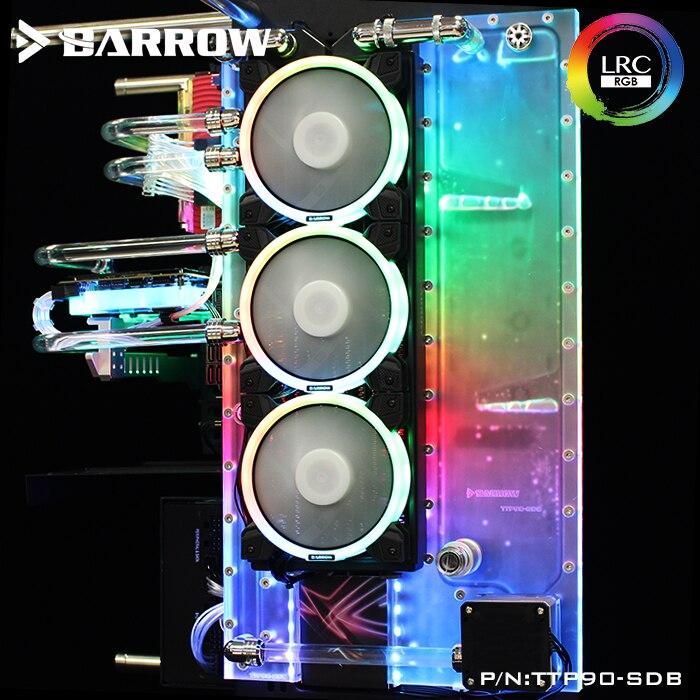 TTP90-SDB brouette réservoir de refroidissement à eau pour TT Core TT P90 TG coque d'ordinateur ouverte 2.0 5 V refroidisseur canal d'eau cadeau de petit ami