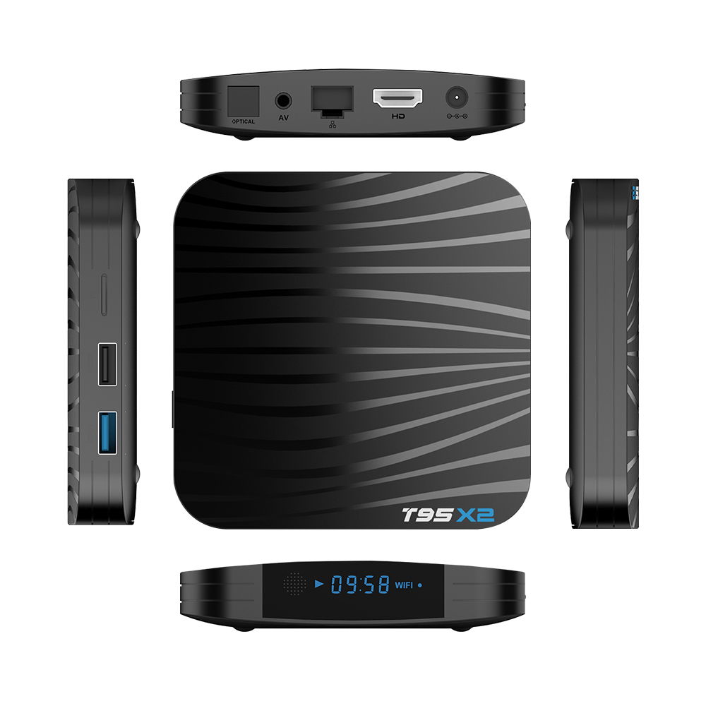 Image 4 - T95X2 Android 8.1 Tv Box 2GB 16GB S905X2 With 1 Year QHDTV Iptv Subscription French Arabic Morocco Belgium Netherlands Ip Tv Vod-in Set-top Boxes from Consumer Electronics