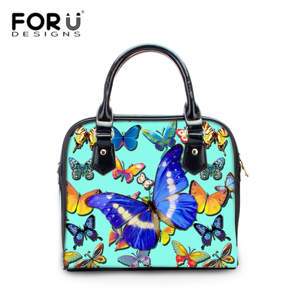 FORUDESIGNS Pu Leather Bags Handbags Women Famous Brands Crossbody Bag Trunk Tote Designer Shoulder Bag Girls Bolsos Mujer luxury handbags women bags designer 2016 pu leather crossbody bags for women vintage famous designer hand bags bolsos de mujer