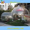 Free shipping commercial Clear Inflatable Bubble Tent For Camping(free CE/UL blower+storage bag)