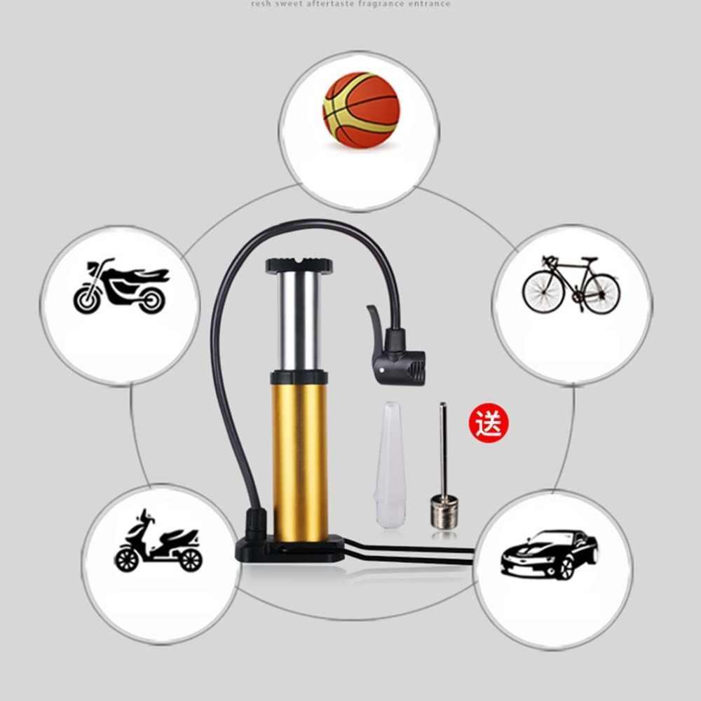 5 couleur Portable Mini ABS en alliage d'aluminium large Application universelle anti-dérapant pied activé pompe à plancher vélo vélo accessoires