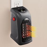 220 v alloet 400 w aquecedor elétrico mini ventilador aquecedor de parede do agregado familiar fogão aquecedor do radiador máquina para o inverno|Aquecedores de pátio| |  -