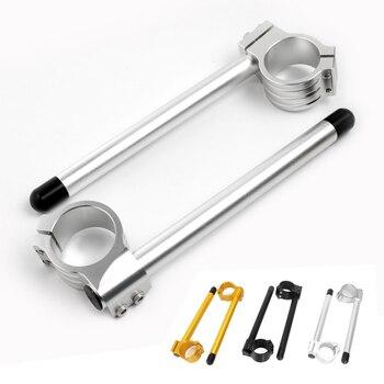 Voor kawasaki ninja 250 r EX500 Motorfiets CNC 37mm Clip Ons Vork Stuur Hoger Clipon Fork Handle Bars voor honda cbr 250r
