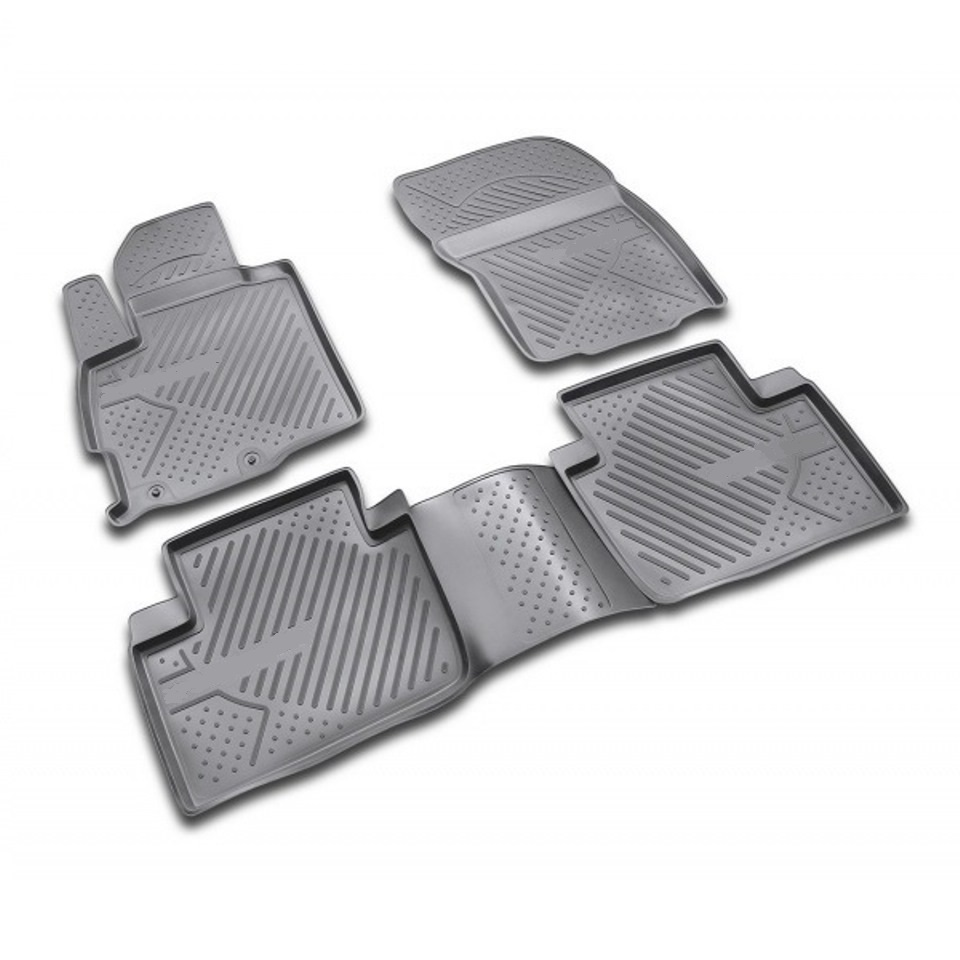For Citroen C-Crosser 2007-2013 floor mats into saloon 4 pcs/set Element NLC1014210K efficiency and competition
