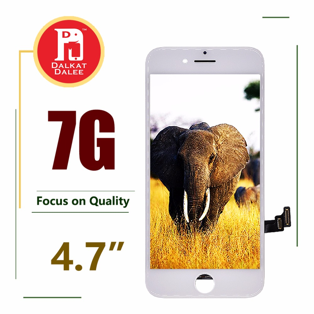 """Super Quality LCD with Good Brightness Backlight for iPhone 7 Screen Replacement LCD Display with Touch Digitizer Assembly 4.7""""-in Mobile Phone LCD Screens from Cellphones & Telecommunications    1"""