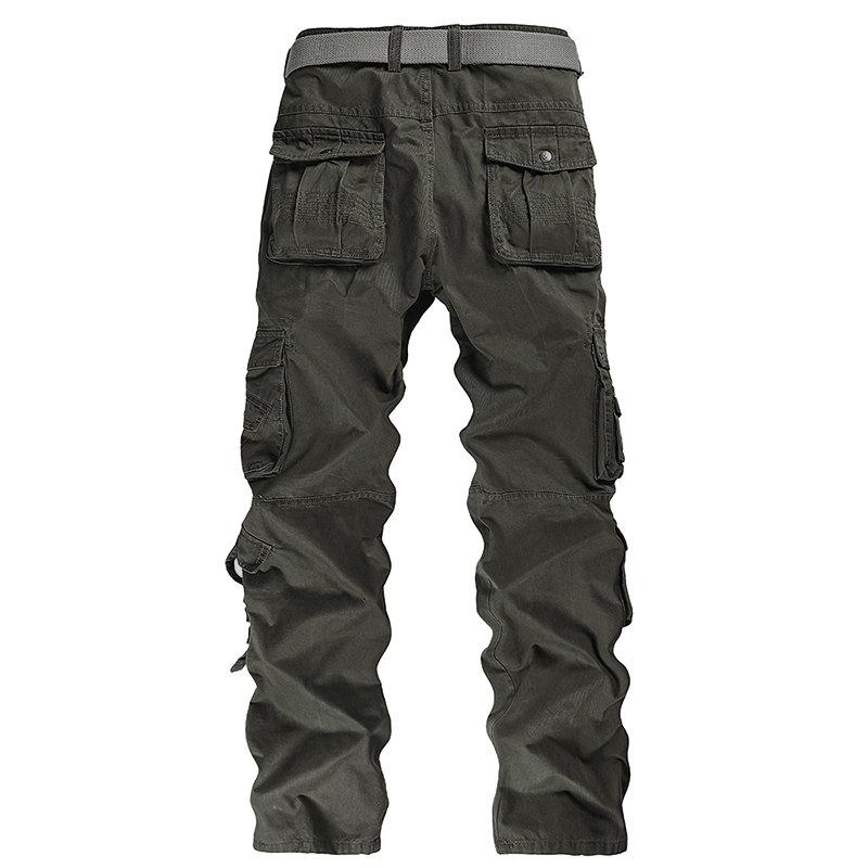 Top sale Mens fashion Military Cargo Pants Multi-pockets Baggy Men Pants Casual Trousers Overalls Army Pants Joggers hot