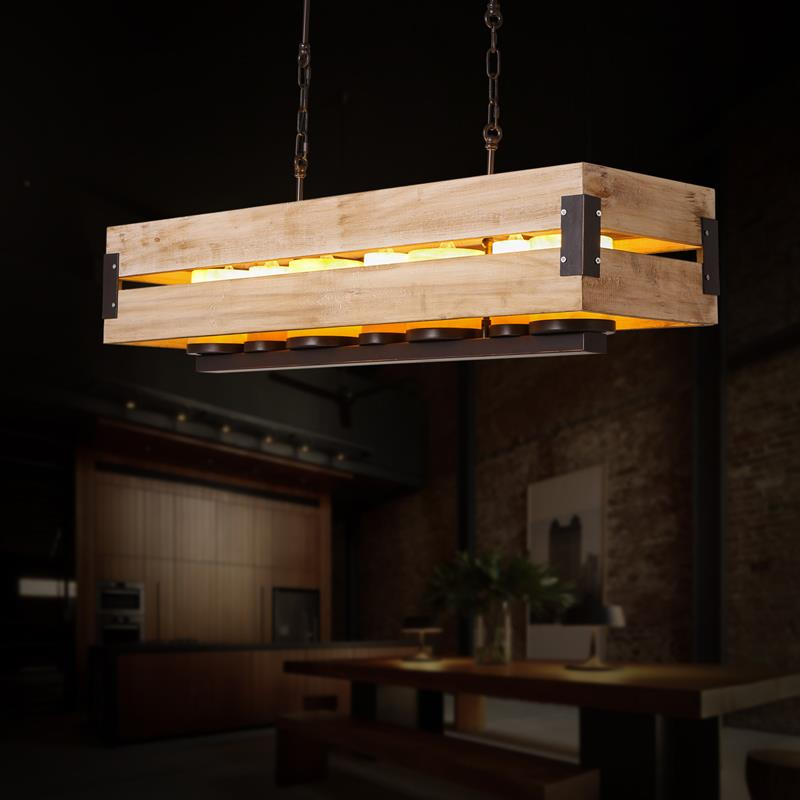 100 dining room hanging lamp gallery of dining for Wooden dining room light fixtures