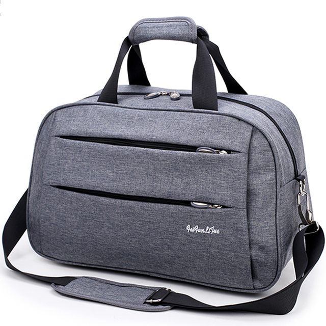 8098310afb Men Travel Bags Carry on Luggage waterproof Canvas hand luggage Duffel Bag  Travel Tote Large Weekend Bag big bags for men 2018