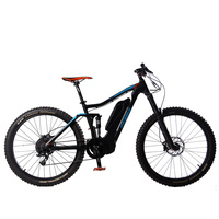 27.5 Inch 10 Speed Electric Bike, Torque Sensing Assisted E bike, 48V 1000W High Speed Mid drive Motor, Pedelec