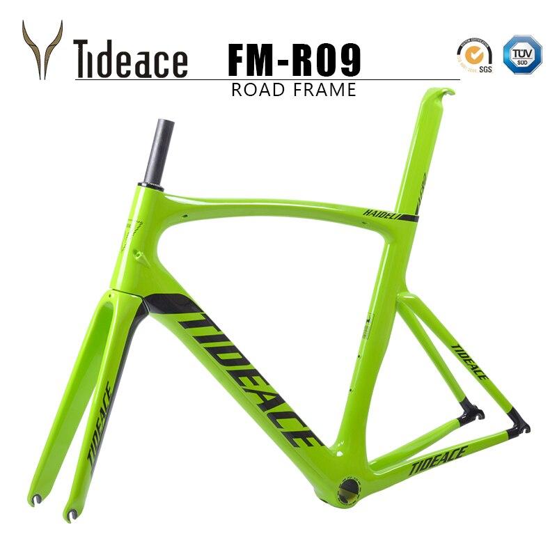 2018 Carbon Road Bike Frame Chinese Carbon Road Frame Cycling Bicicleta 54cm PF30 Road Bike Frame