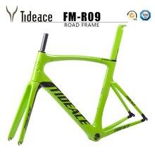 2018 карбоновая шоссейная велосипедная Рама китайский углерод шоссейная Рама Велоспорт Bicicleta 54 см PF30 шоссейная велосипедная рама карбоновая рама