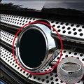Для Mercedes Benz Vito 2016-2017 1 шт. ABS Хромированная передняя головка для автомобиля решетка для логотипа Накладка для автомобиля Стайлинг Аксессуары ...