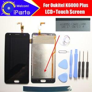 Image 1 - Oukitel K6000 Plus écran LCD + écran tactile NSB55012A01 V00 100% Original testé numériseur panneau de verre remplacement pour K6000 Plus