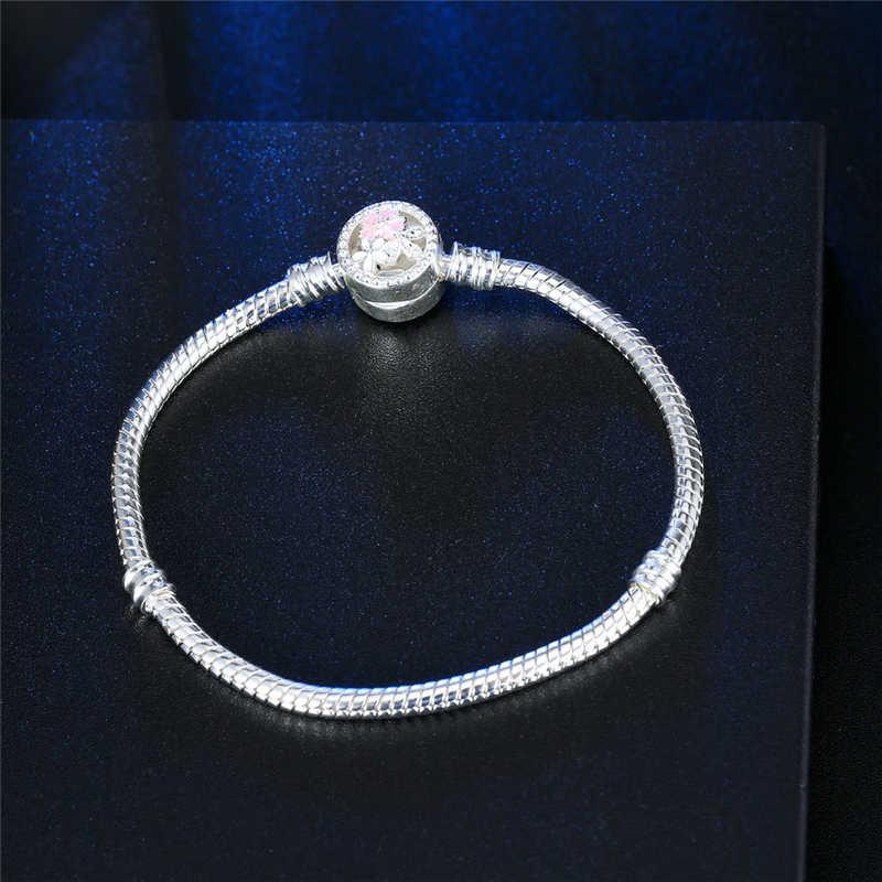 Neue Silber Goldene Überzogene Armband Für Frauen Diy Schmuck Barrel Fit Pan Charme Perlen Armbänder Armreifen DIY Schmuck