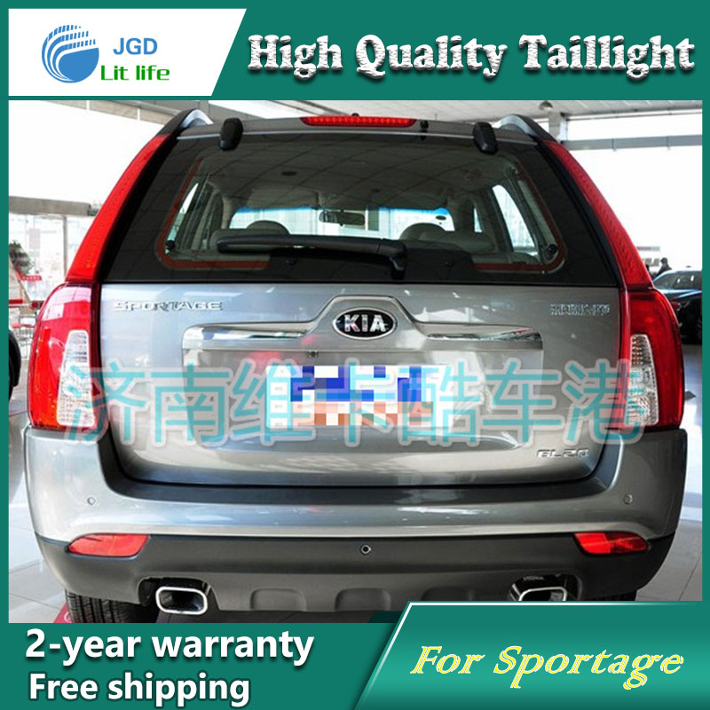 Car Styling Tail Lamp for Kia Sportage 2008-2013 Tail Lights LED Tail Light Rear Lamp LED DRL+Brake+Park+Signal Stop Lamp for kia sportage r led tail lamp