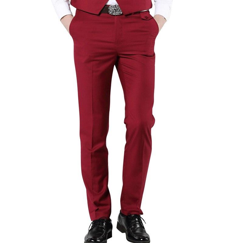 Aliexpress.com : Buy MOGU 2017 New Casual Dress Pants For Men 7 ...