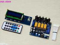 New Version PGA2311 Preamplifier 4 Way Remote Volume Controller Preamp