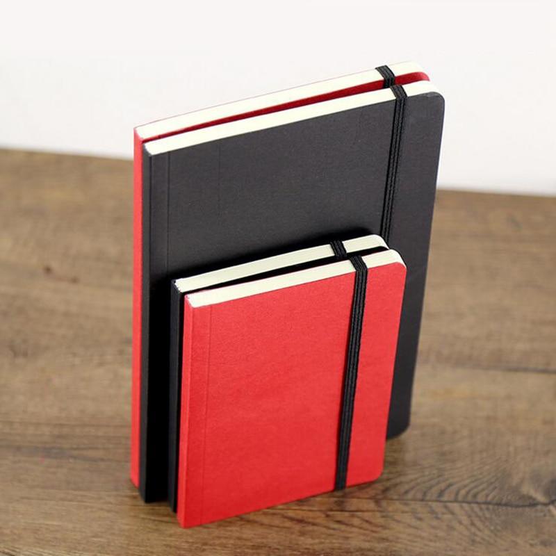Criativo A5 A6 Sketch Book 80 Folha Diário Jornal Notebook Papelaria Notepad SketchBook 80gsm Para Pintura Desenho Presente Da Escola