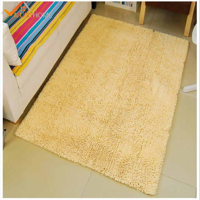 70x160cm 28x63 Chenille Microfiber Living Room Carpet Rugs Soft And Comfortable Area