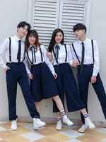 2019 summer japanese korean sailor suit cosplay costumes school uniforms cute girls jk student clothing set