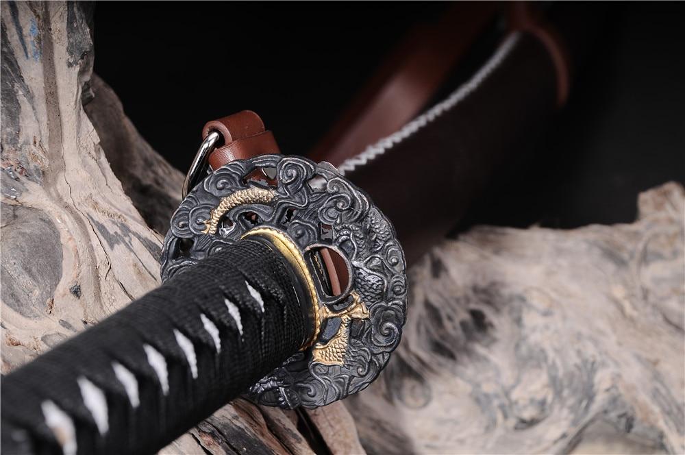 əl istehsalı samuray yapon qılıncları katana funksional zombi - Ev dekoru - Fotoqrafiya 3