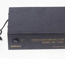 12 way1 вход 12 выход видео Аудио amp spliter RCA разъем av-сплиттер 220 В 50 Гц
