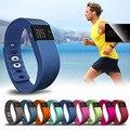 1 unid lujo marca hombres mujeres relojes inteligentes pulsera banda muñequera podómetro lindo alarma impermeable relojes deportivos sueño H4