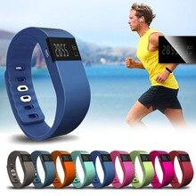 1pc luxury brand men women smart watches bracelet band wristband pedometer cute waterproof alarm sports watches sleep tracker H4