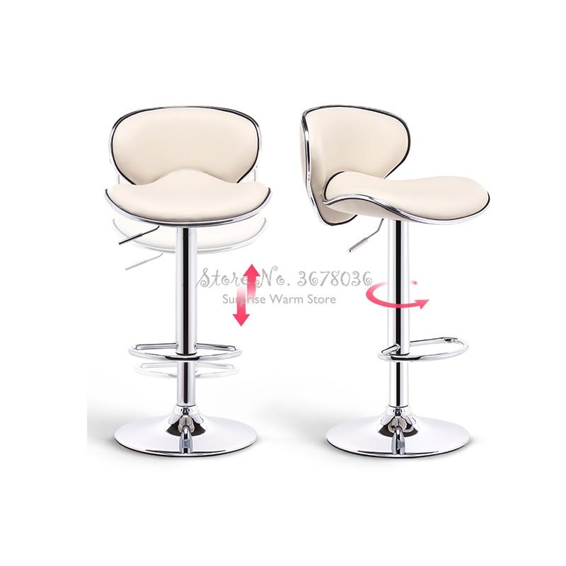 High Quality Lifting Rotate Bar Stool Iron Bar Chair Bar Stool Seat Make Up Chair Rotate Bar Stools Modern