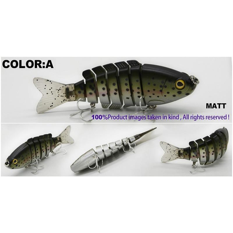 Mr.Charles CMCS 055 Fishing Lure 94mm/35g Singking Quality Professional 7 Segment Swimbait Crankbait Hard Bait