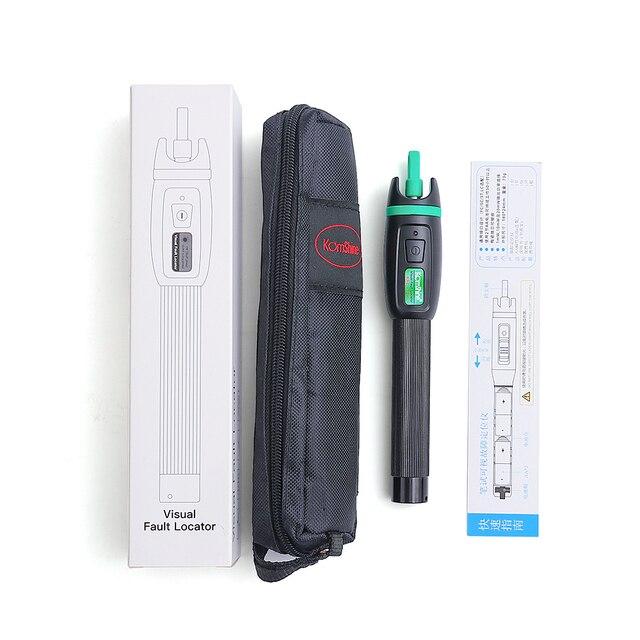 30 mw vfl 펜 타입 광섬유 시각 장애 탐지기 30 mw komshine KFL 11P 30 광섬유 레이저 (클래스 1 레이저 제품)