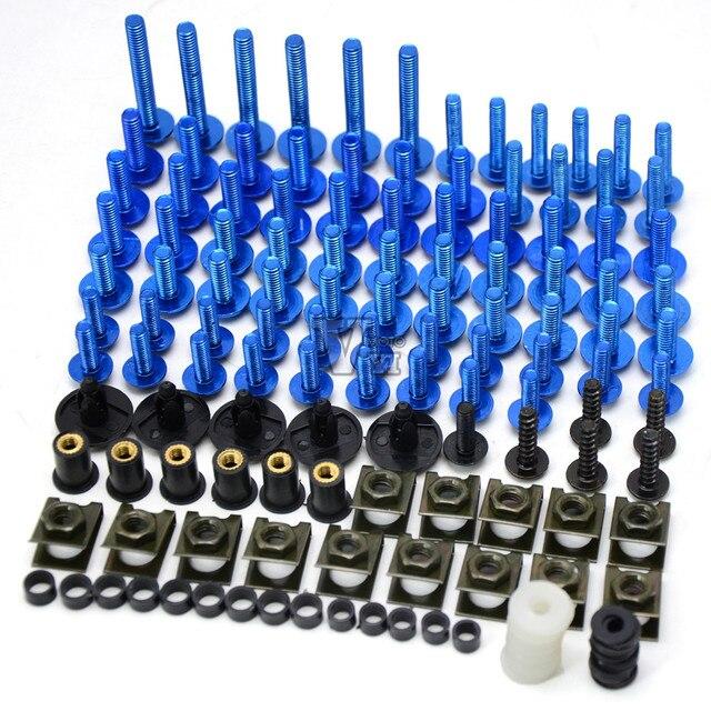 Accesorios de la motocicleta motocicleta body work carenado tornillos tornillos para Suzuki 2006-2010 GSX-R 600 750 K6 y 2005-2006 GSXR 1000