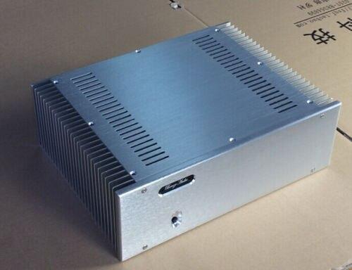 WANBO font b Audio b font BZ3612A class A amplifier chassis aluminum enclosure DIY aluminum amplifier