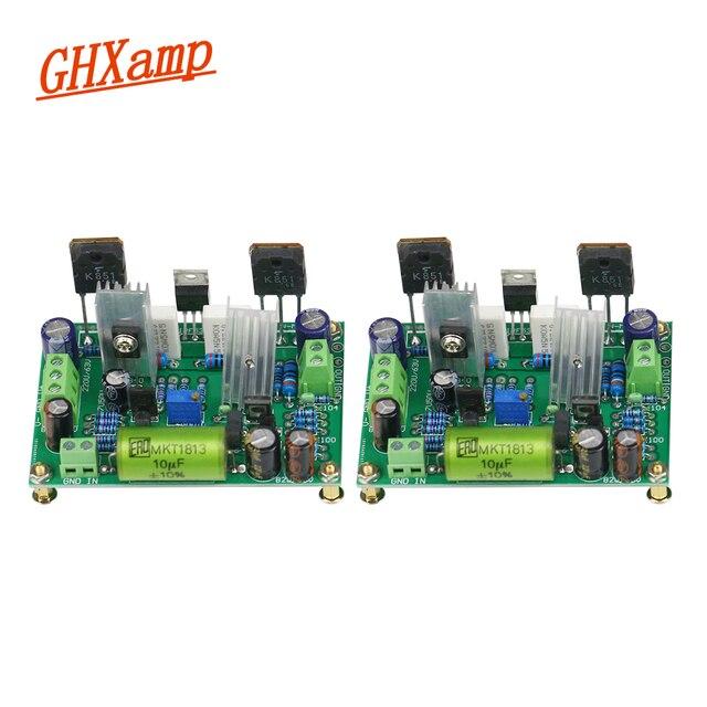 لوحة مضخم صوت HIFI K851 MPSA56 MPSA06 لوحة مضخم صوت لتأثير المجال الحالي الكبير 125 وات قطعتان
