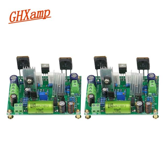 Placa amplificadora K851 HIFI, MPSA56, MPSA06, placa amplificadora de tubo de efecto de campo de gran corriente, 125W, 2 uds.