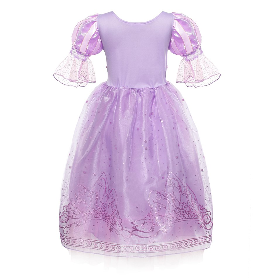 Girls Rapunzel Dress up Clothes (3)