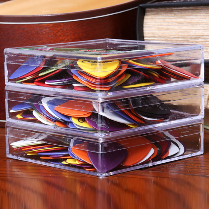 Купить с кэшбэком 100pcs Alice Non-slip ABS Guitar Picks Plectrum Gauge 0.58/ 0.71/0.81/ 0.96/1.20/ 1.50mm Color Random Guitar Parts Accessories