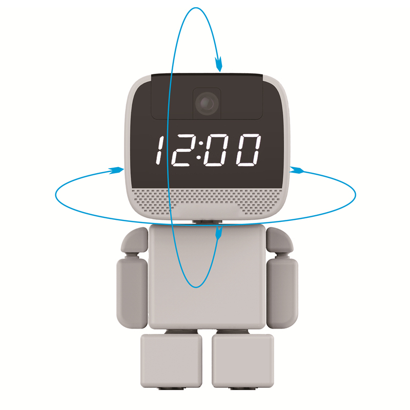 Robot Security IP Camera WIFI HD Baby Monitor Audio SD CMOS Wireless 960P CCTV P2P PTZ Surveillance Cam Remote Home Monitoring