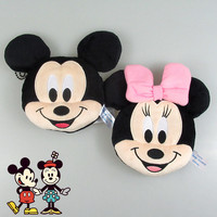 20pcs/lot New 12cm Minnie Mickey Plush Toys for Kids mickey Coin Purses Bag Pendant Kids Gifts
