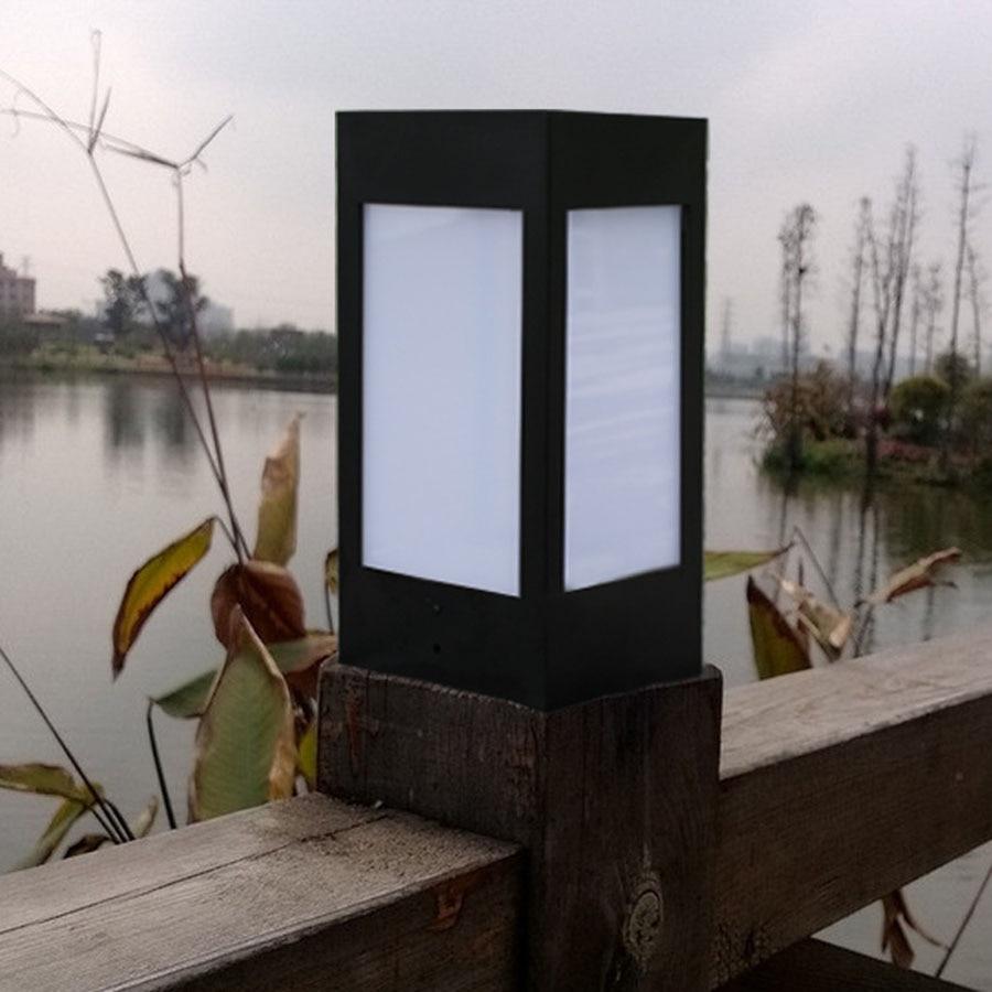 estigma lâmpadas caminho ao ar livre gramado solar lâmpadas