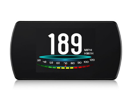 RMLKS P12 5.8 TFT OBD Hud affichage tête haute numérique voiture vitesse projecteur ordinateur de bord OBD2 compteur de vitesse pare-brise Projetor