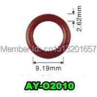 Freies verschiffen 100 einheit großhandel viton o-ringe dichtung für bosch einspritzventil reparatur-kits größe 9,19*2,62mm AY-O2010