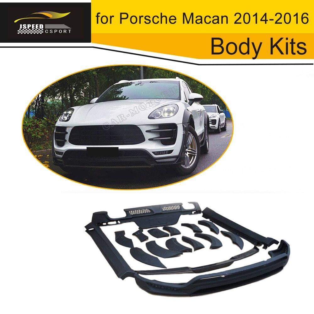 Car PU car styling body kits for Porsche Macan 2014 2016|kit kits|kit for car|kit car kit - title=