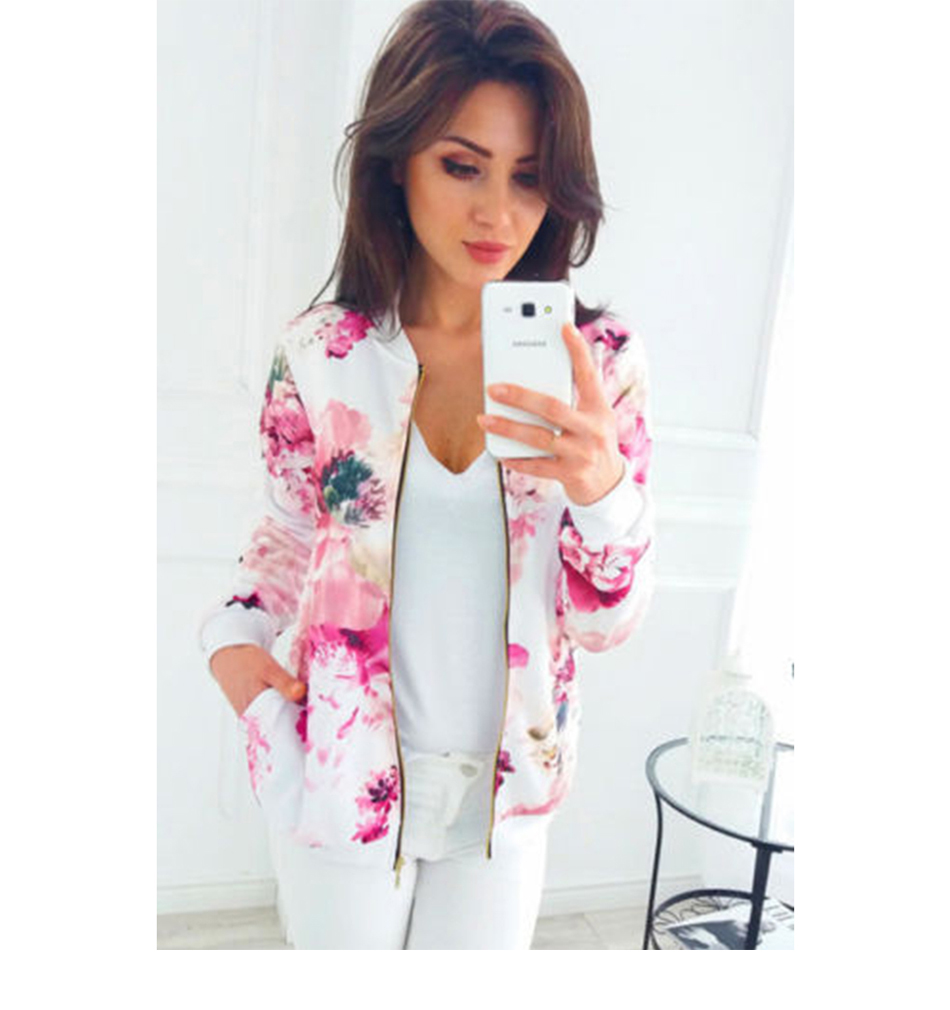 HTB1GV6hTkzoK1RjSZFlq6yi4VXaa Plus Size Printed Bomber Jacket Women Pockets Zipper Long Sleeve Coat Female Flower Chiffon White Jacket Woman Spring 2019