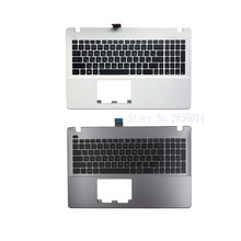 New Russian Laptop Keyboard for ASUS X550 K550V X550C X550VC X550J X550V A550L Y581C F550 R510L RU Palmrest Upper Cover