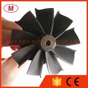 Image 4 - TD05H Turbocharger  turbine shaft&wheel/turbine wheel 49.12X56mm 9 blades