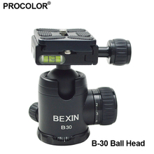 Camera BallHead Pro Universal Camera Tripod monopod Ball Head With PU-50 Quick Release Plate 1/4″ Screw Camera Accessories