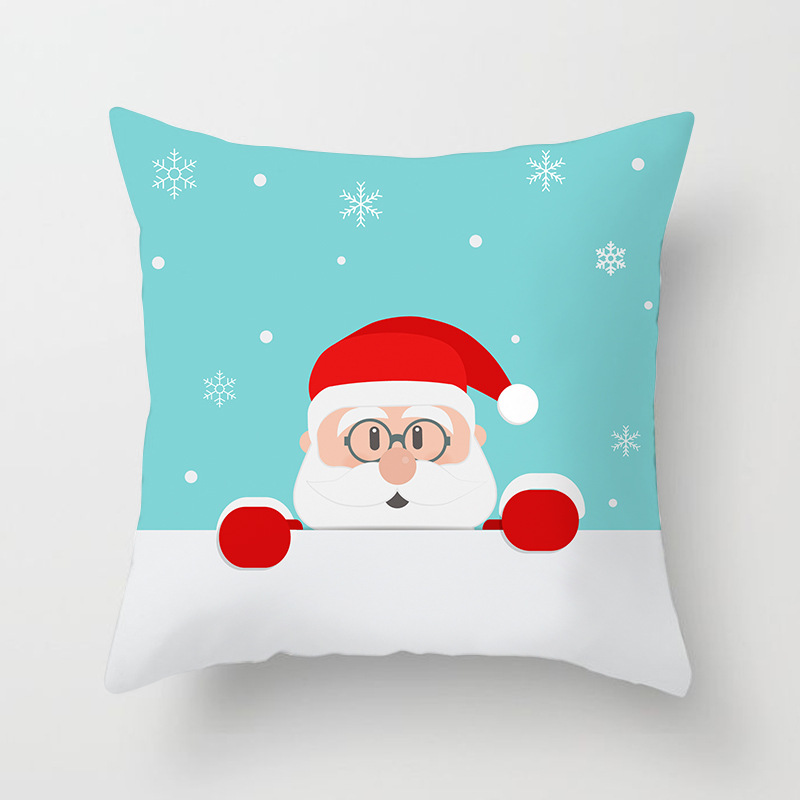 Merry Christmas Decorations For Home Decoration Noel 2018 Christmas Ornaments Christmas 2018 Decor Pillow Case Gifts Xmas Decor  (16)