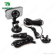 Cheaper HD 1080P 3.5″ Display Dual Camera Digital Video Recorder car DVR Camera for Android with G-Sensor Cycle Recording KF-A1049