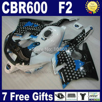 Custom Factory Fairings Kit For Honda CBR600 F2 1991 1992 1993 1994 CBR 600 F2 92